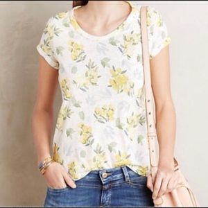 Anthropologie t.la Floral Tee
